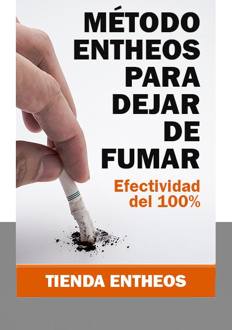 método Entheos para dejar de fumar. Efectividad del 100. Tienda Entheos