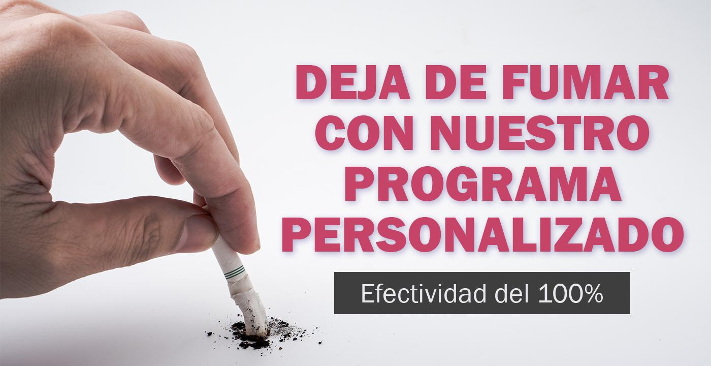DEJA DE FUMAR con nuestro programa PERSONALIZADO