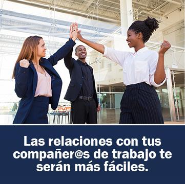 Las relaciones con tus compañer@s de trabajo te serán más fáciles.